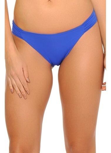 Reflections Mix Match Kelebek Modelli Düz Bikini Alt Saks